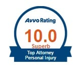 AVVO - Top Personal Injury Lawyer